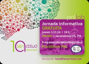 Jornada Informativa GRATUITA en Madrid 3.11.16